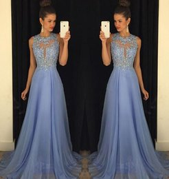Ombre Long White Prom Dresses Australia - 2019 Sexy O Neck A Line Ombre Chiffon Lace Beaded Maroon Lavender Long Prom Dresses 2019 Backless Court Train Kylie Jenner Dresses BA1641