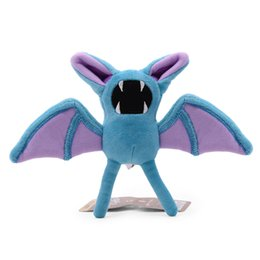 $enCountryForm.capitalKeyWord UK - 17cm Zubat Doll Stuffed Toys Plush Animals Kids Toys for Girls Children Boys Kawaii Plush Toys Cartoon Soft Japanese Anime