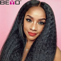 $enCountryForm.capitalKeyWord Australia - Peruvian Wigs Full Lace For Black Women Kinky Straight Wig Cheap 360 Full Lace Human Hair Wigs With Baby Hair Remy Beyo