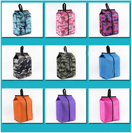 $enCountryForm.capitalKeyWord Australia - Portable Shoes Bags Cosmetic Bag Camouflage Folding Waterproof Travel Wash Bag Sundries Home Furnishing Oxford cloth Storage Bags HH9-2227