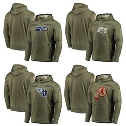 $enCountryForm.capitalKeyWord Australia - 2019 New Style Seattle Tampa Tennessee Washington Men Redskins Titans Bay Seahawks Olive  Sideline Pullover Hoodies