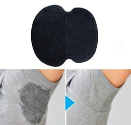 Wholesale 1000Pcs Summer Underarm Armpit Sweat Pads Dress Disposable Stop Sweat Guard Absorbing Cotton Pads Underarm Shields colors