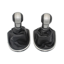 Seat StickS online shopping - For Seat Altea Car Stying Speed Car Gear Stick Shift Knob With Leather Boot