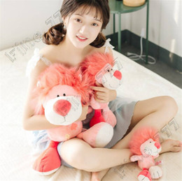 Nici toys wholesale online shopping - 20cm NICI cherry powder lion plush toy doll cute pink lion home decoration children plush gift children s gift