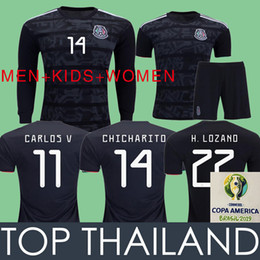 6ca803ad1 ChiCharito jersey kids online shopping - 2019 GOLD CUP Mexico Soccer Jerseys  LOZANO CHICHARITO Football Shirt