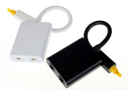 Optical Audio Australia - High Quality Mini USB Audio Cable Digital Toslink Optical Fiber Audio 1 to 2 Female Splitter Adapter cable