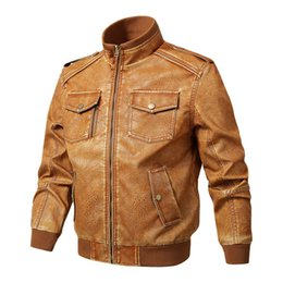 $enCountryForm.capitalKeyWord Canada - 2019 New Fashion High Quality Men's Leather Jacket Coat Autumn New Casual Motorcycle PU Jacket Leather Coats European size M-5XL