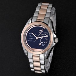 steel table clock Canada - 2019 Hot sales Fashion luxury watch Women new clock TOP satinless steel wristwatch Quartz High quality Wristwatch noble female table