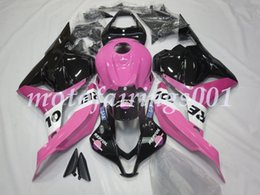 Pink honda motorcycles online shopping - Injection Mold New style ABS Motorcycle Fairings Kits Fit for HONDA CBR600RR F5 cbr600 rr Pink black repsol