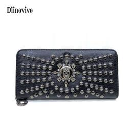 $enCountryForm.capitalKeyWord Australia - DIINOVIVO Fashion Rock Style Luxury Leather Women Handbag Casual Rivet Handbags Punk Design Female Elegant Purse WHDV0085 #564455