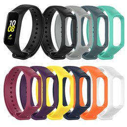 Galaxy bracelets online shopping - For Samsung Galaxy fit e R375 Smart watch strap silicone bands bracelet replacement with Pattern Smart accessoires