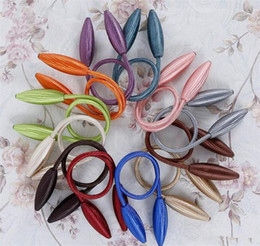 Home Décor Curtain Tiebacks Plush Alloy Hanging Belts Ropes Curtain Holdback Buckles Clasp Clips Curtain Accessories Hook Holder Decor on Sale