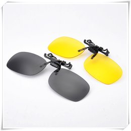 978195ce1dc37 Outdoor Eyewear Polarized Glasses Day Night Vision Driving Fashion New  Style Sunglasses Clip-on Flip-up Lens Polarized Glasses
