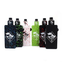 TugboaT mechanical mods online shopping - 2019 Hot Tuglyfe Tugboat Box Mod Kit with Colorful tuglyfe Unregulated mod Cubed RDA Mechanical Velocity RDA Tuglyfe Portable box mod Vapori