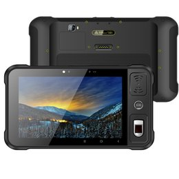Tablet Android 4g Gps 16gb Australia - Android 7.1 Rugged tablet (4G GPS WIFI BT)(2GB 16GB) 1920*1200 LCD Front NFC ST80