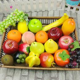 $enCountryForm.capitalKeyWord NZ - New 1PC Fake Simulation Fruit Wedding Party Props Artificial Decorative Vegetable Plastic Foam Home Decor