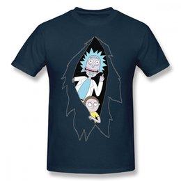 Discount popular t shirt designs - 2019 men s designer clothing tshirt Fashion Rick And Morty Cartoon T Shirt Men Popular Design Tee Shirt Round Neck Plus
