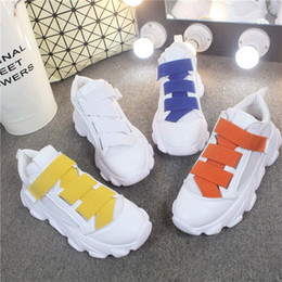 $enCountryForm.capitalKeyWord NZ - New Arrival Fashion Women's casual shoes Breathable Mesh Female White Shoes Cross Straps Hook & Loop Female Candy colors Casual Shoes