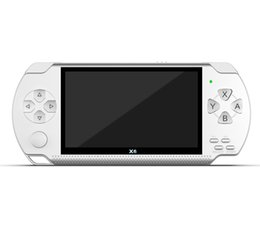 Chinese  4.3 inch PSP handheld game 64 bit 8GB arcade nes nostalgic sup game console mp5 player manufacturers