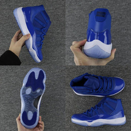 Buona qualità 11s 11 Dark Real Blue Mens Womens Retro Scarpe da pallacanestro Midnight Navy Chicago Gym Red PRM Heiress Uomo Sport Taglia 36-47 in Offerta