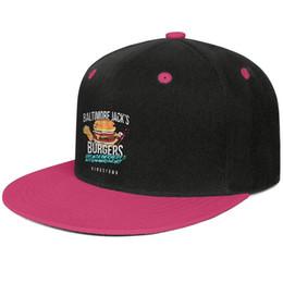 $enCountryForm.capitalKeyWord NZ - Bruce Springsteen Inspired Hungry Heart Baltimore Jacks Design Hip-Hop Cap Snapback Flat Brim Baseball Hat Summer Beach Activities Adjustabl