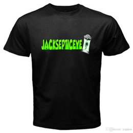 Опт Новый JACKSEPTICEYE Youtuber логотип мужская черная футболка размер S-3XL