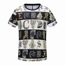 Chinese  18ssPP summer street clothing European Paris fashion Cotton t-shirt men's high quality large hole cotton T-shirt casual women's T-shirt T-sh manufacturers