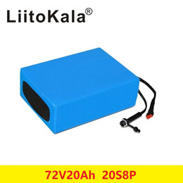 72v charger Australia - BOOANT 72V 20AH Scooter Battery For Bafang 3000W Motor Li-ion Battery pack 20S 8P E-Bike Li-ion Battery pack with 84V 5A charger
