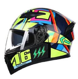 Full Carbon Fiber Motorcycle Helmet Australia - Hot sale JIEKAI Flip Up Motorcycle Helmet Modular Moto Helmet With Inner Sun Visor Safety Double Lens Racing Full Face Helmets