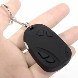 Wholesale Mini Camcorders Car Keys Car Keychain Micro Pocket Camera HD Video Camera Video Recorder Portable Camcorder