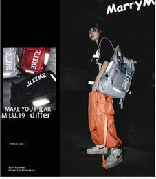 $enCountryForm.capitalKeyWord Australia - New street trend backpack men and women large capacity hip hop tide brand reflective backpack ins super fire student bag