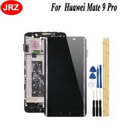 Huawei Mate Lcd Display Touch Screen Australia - JRZ 5.5'' For Huawei Mate 9 Pro LCD Display and Touch Screen With Frame Supporting Phone Repair Parts with tools For Mate 9 Pro