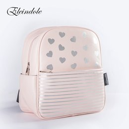 Small child School online shopping - Eleindole New Size School backpack for Boys Girls Fashion Arrows Hearts Military Pattern Children Bags T191021