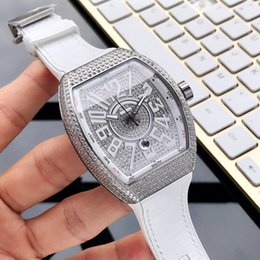 $enCountryForm.capitalKeyWord Australia - montre de luxe Automatic mechanical movement 316 stainless steel case Auto date 45mm 14mm diamond case casual leather strap mens watch A125