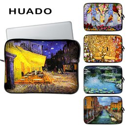 "$enCountryForm.capitalKeyWord Australia - Oil painting pattern notebook sleeve 17inch portable laptop case 15.6 bags 14inch 13""12"" cover for acer hp xiaomi mi pro lenovo"