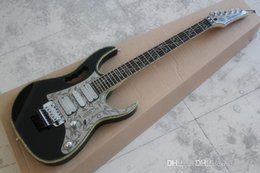 $enCountryForm.capitalKeyWord Australia - Double shake 24 products electric guitar black body metal guard plate imported accessories 10 years anniversary