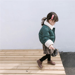 $enCountryForm.capitalKeyWord NZ - 2019 Winter New Arrival korean version cotton thickened and warm short-style coat with fur collar for fashion cute baby girls
