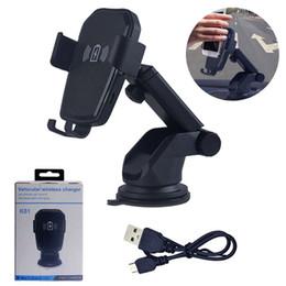 Qi Wireless Car Charger Schnellladung Tasse Pad Handyhalter Cradle Air Vent Halterung Ständer In Auto für iPhone Samsung Handy Halterung