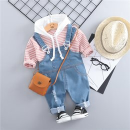 baby pullover NZ - Novelty Baby Girls Clothing Set Outfits Pullover T-shirt Tops Pants Suit For Newborn Baby Girls Clothes Birthday Costume Sets Y19061303
