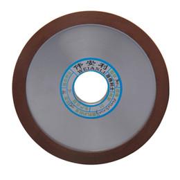 Vente en gros Diamant 150mm Roues diamantées Disque de meulage 150/180/240/320 Grains Hypoténuse pour fraise au carbure PowerTool