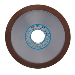Chinese  diamond 150mm Diamond Wheels Grinding Disc 150 180 240 320 Grits Hypotenuse For Carbide Milling Cutter PowerTool manufacturers
