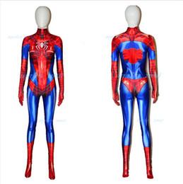 Halloween Costumes Super Woman Australia - MJ Jamie Spider Costume Mary Jane Girl Female Spider-man Cosplay Suit spiderman Spider-woman girl halloween bodysuit