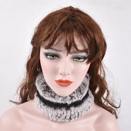 $enCountryForm.capitalKeyWord Australia - Winter fur headbands for women knitted rex rabbit fur scraf for women real headwrap ear warmer newest fashion hairband