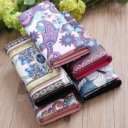 $enCountryForm.capitalKeyWord Australia - Vintage Graffiti Printed Women Pu Leather Casual Long Wallet Girls Mini Clutch Phone Cool Multi-color Card Holder Ladies Purse