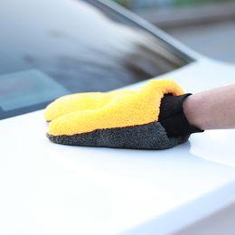 Detailing For Cars Australia - Premium Chenille Washing Glove 2pcs Car Cleaning Microfiber For Car Sponge For Cars Car Detailing