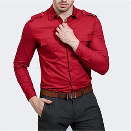 Discount long elegant dinner dresses - Plus Size Party Shirt Men Elegant Dinner Blouse Fitness Novelty Spring Blusa 2019 Formal Working Shirts Long Sleeve Male