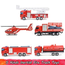 $enCountryForm.capitalKeyWord NZ - 5 Kinds Alloy Simulation Fire Series Inertia Pull Back Children's Toys Home Decoration Vehicle Model Children's Educational for People Gifts