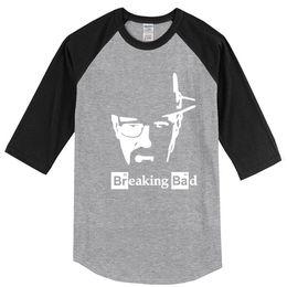 T Shirt Hip Hot Australia - 2019 Summer Breaking Bad Printed Hot Men's T-shirts Cotton T-shirt Streetwear Hip Hop Top Harajuku Brand Clothing Raglan T Shirt