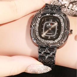$enCountryForm.capitalKeyWord Australia - 1Luxury Fashion Small Dial Without Scale Cross Mesh Belt Ladies Quartz Watch Watch Watch