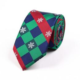 $enCountryForm.capitalKeyWord Australia - 2019 hot New Christmas Tie Silk Jacquard 7.5cmsnowflakes xmas neck tie Men's Necktie Best Christmas Day Gift for Man